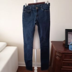 Med/Dark Wash Skinny Jean's Banana Republic